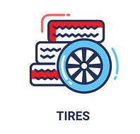 tires icons